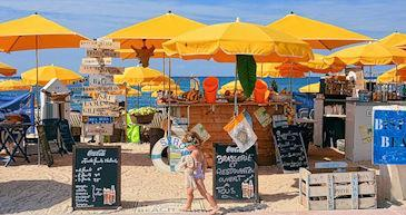 beach bars restaurants south france365