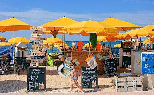 beach bars restaurants south france500