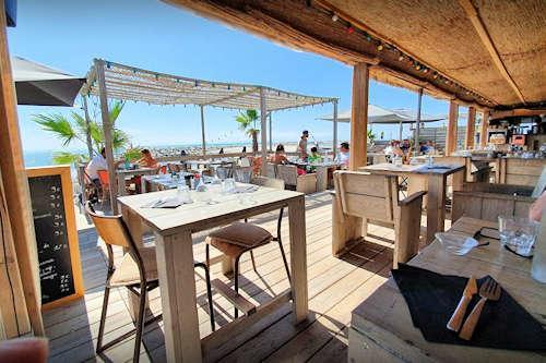 la playa beach bar france