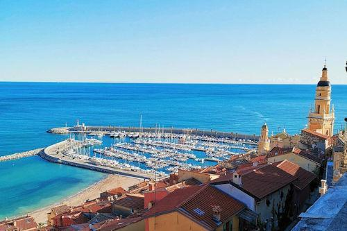 menton france weather