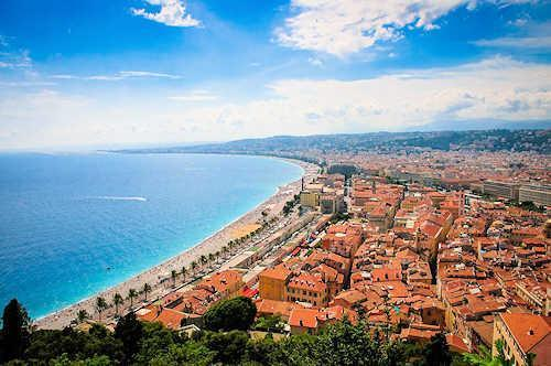 Nice South of France holiday destinations
