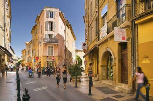 Aix en Provence South of France