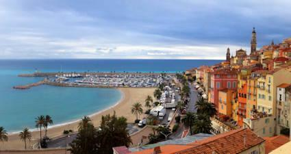 menton beaches france