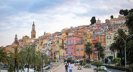 weather menton old town