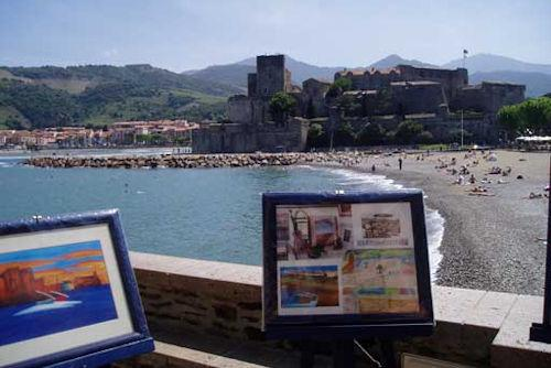 collioure art trail500