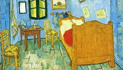 van gogh arles bedroom