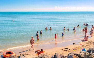best beaches near beziers france