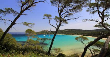 hyeres plage best beaches Porquerolles