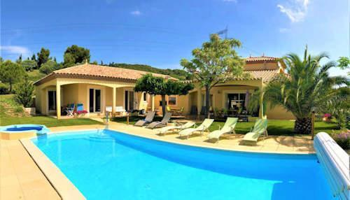 south france villas private pools