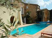 Le Tour de Aspiran, chateau in France with pool sleeps 6 -12