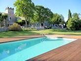 Domaine de Monteils French gites with pools, Sommieres (sleeps 2)