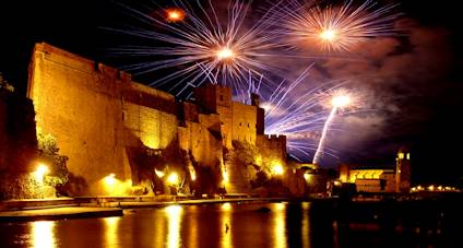 collioure fireworks